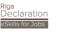 Riga Declaration eSkills for Jobs