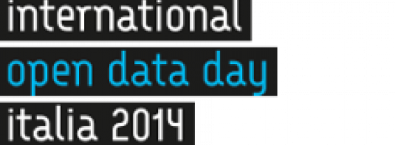 Logo International open data day Italia 2014