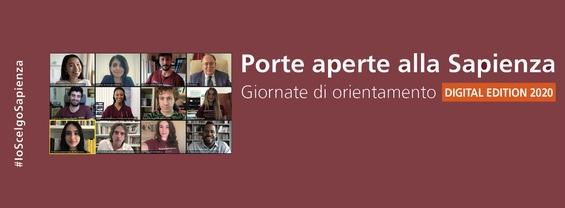 Porte aperte alla Sapienza 2020 (Digital Edition)